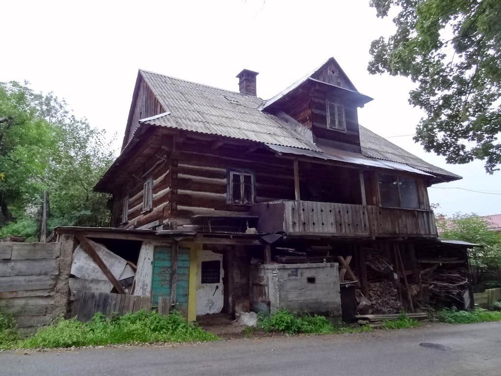 Old house in Jawornik