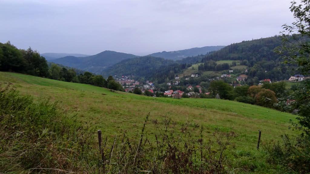 Czantoria, east slopes over Jawornik