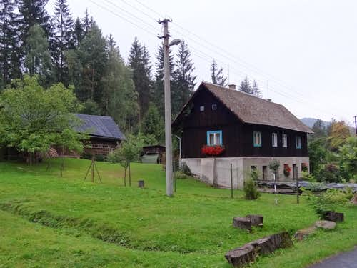 House in upper Nýdek