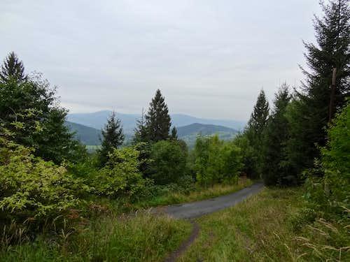 Views from upper Nýdek on the Czech side