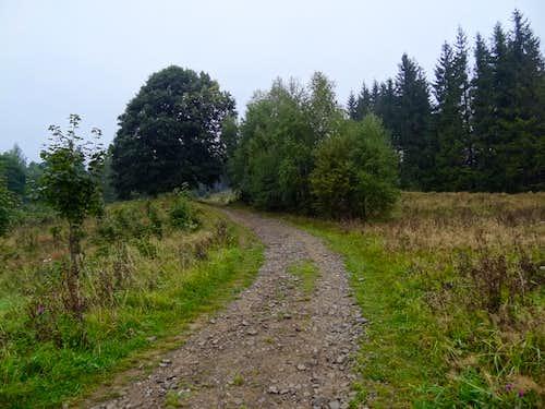 Czech trail to Čantoryje