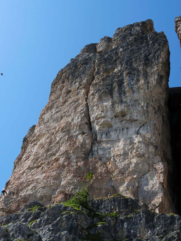 Climbing Torre Grande, Dimani