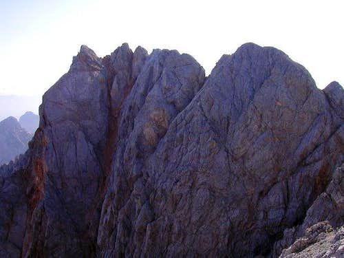 The wild ridge between...