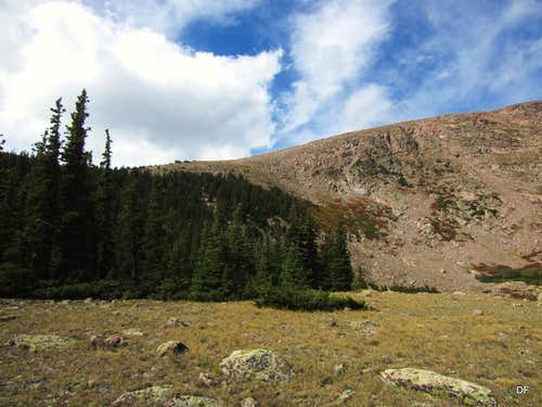 East Slope from 11,600\'