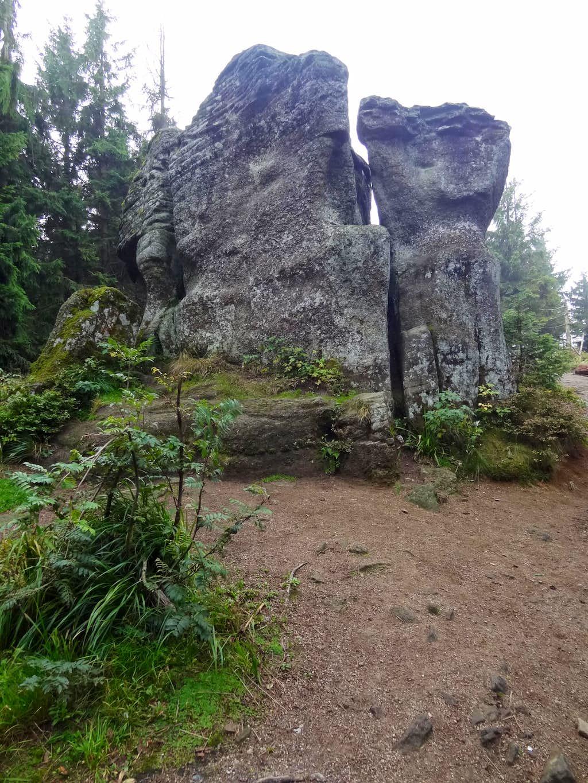 Malinowa Skała, bizarre-shaped sandstone outcrops
