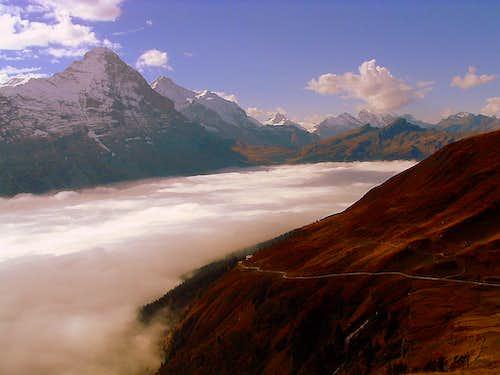 Bernese Alps from Alp Grindel