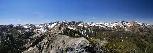 View South from Kessler Peak, UT