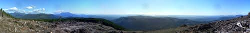 Blue Mountain pano
