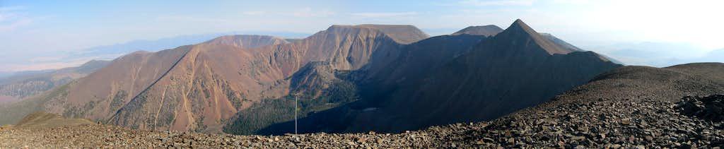 Table Mtn massif