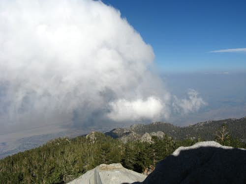 Palm Springs from Mt. San Jacinto