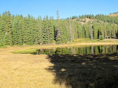 Nameless Lake at 11350 ft