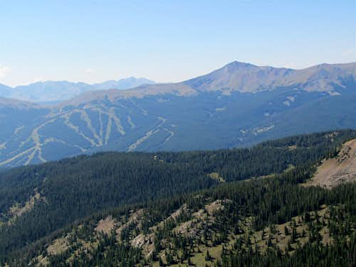 Jacque Peak & Copper Mtn. Ski Area