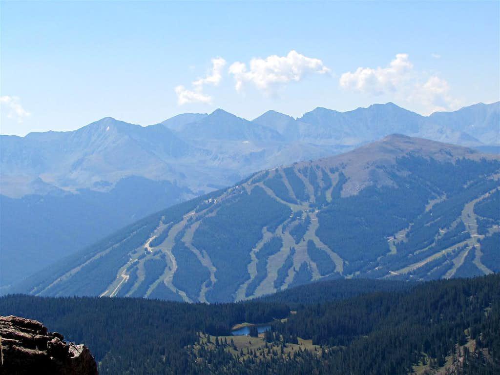 Tenmile Range & Copper Mountain