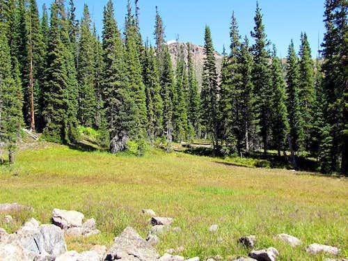 The tip of Sneva Peak