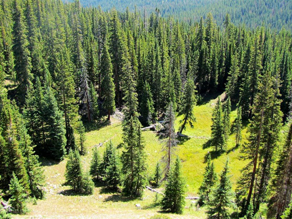 On Gore Range Trail