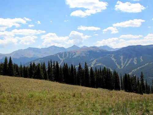 Tenmile Range & Copper Mountain Ski Area