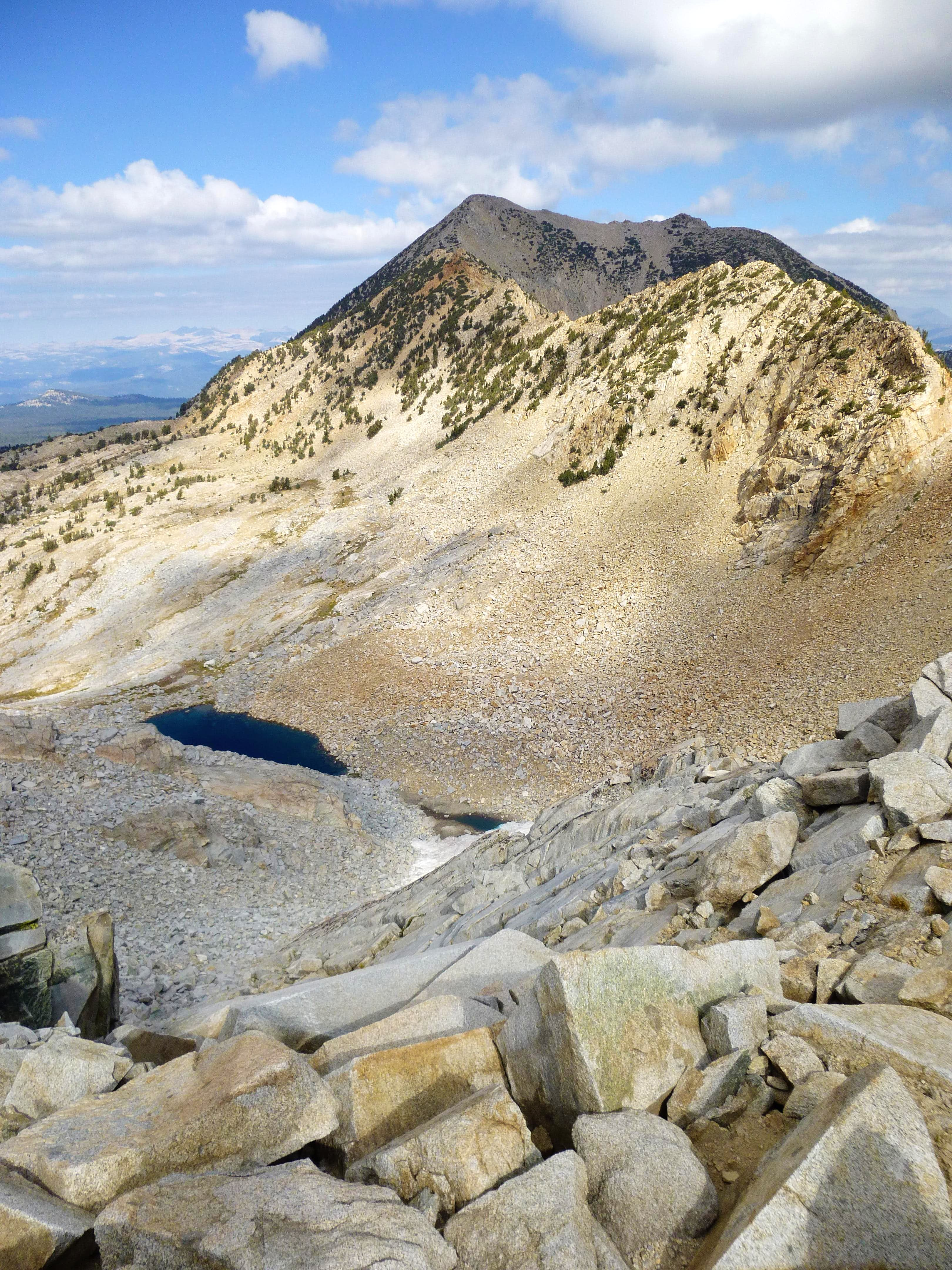 Silver Peak via Devil\'s Bathtub