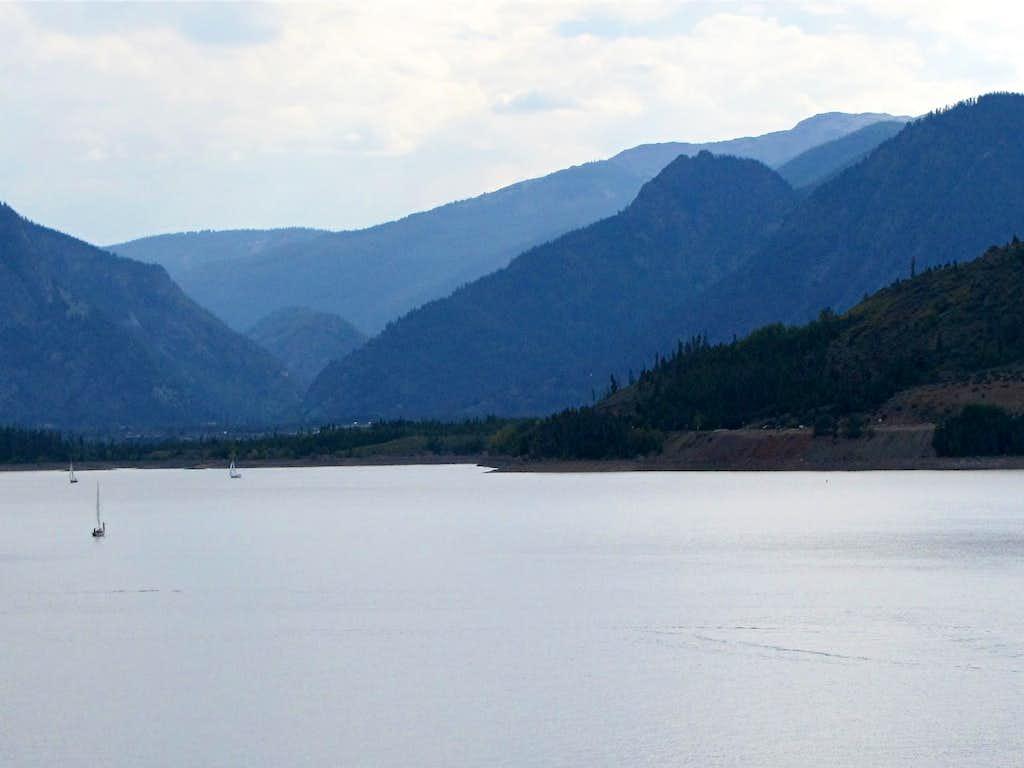 Sneva Peak from Dillon Lake