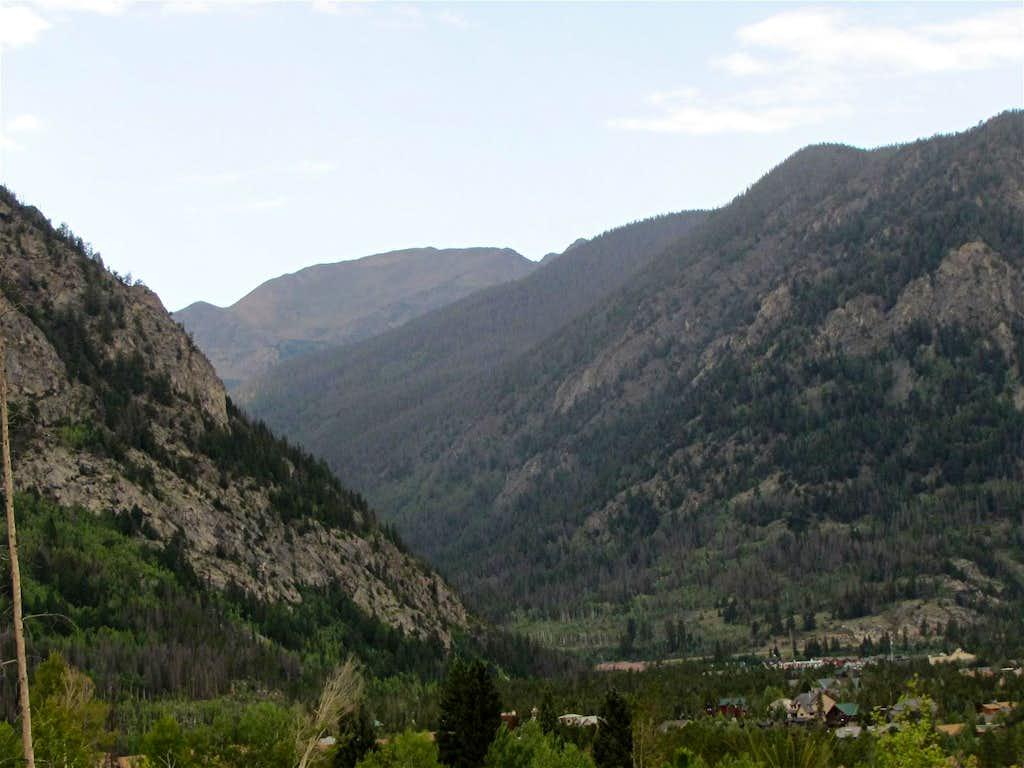 Sneva Peak, SE face