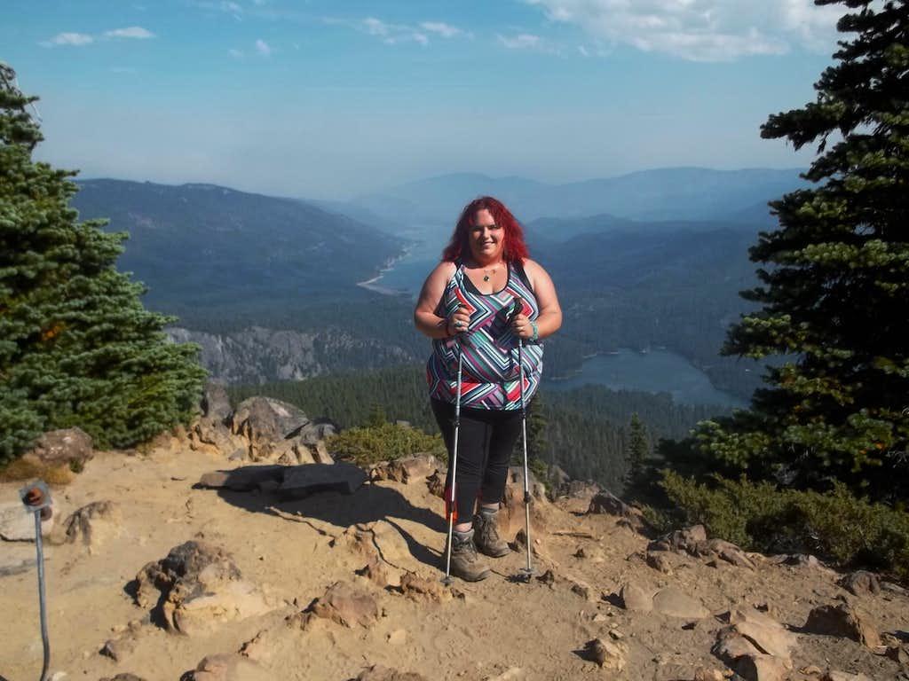BearQueen on the summit
