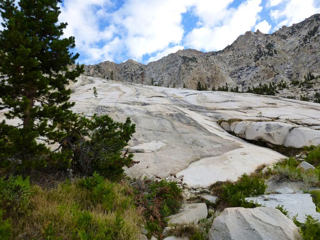 Friction granite