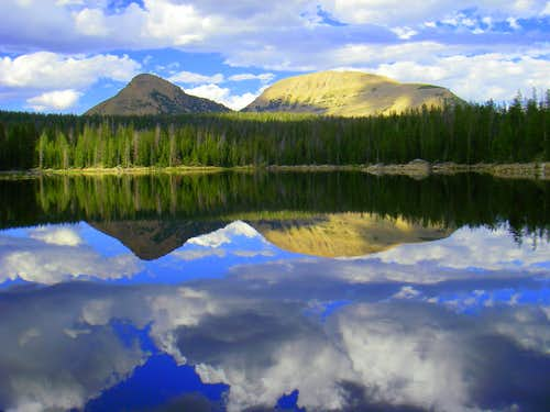 Beautiful Uinta Reflection!