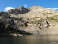 Liberty Peak and Lamoille Lake
