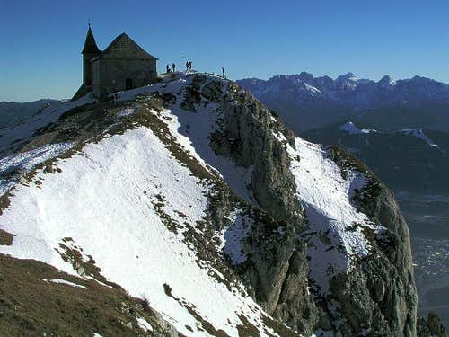 From the summit of Dobratsch....