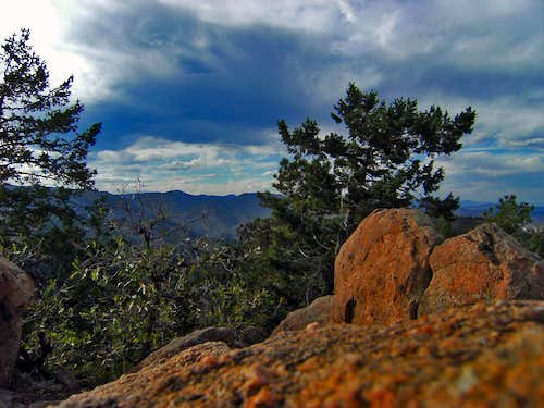 Carpenter Peak Summit