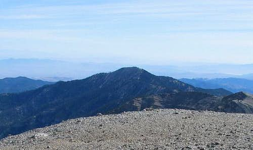 Griffith Peak as seen from...