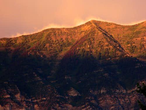 Cascade via Dry Fork