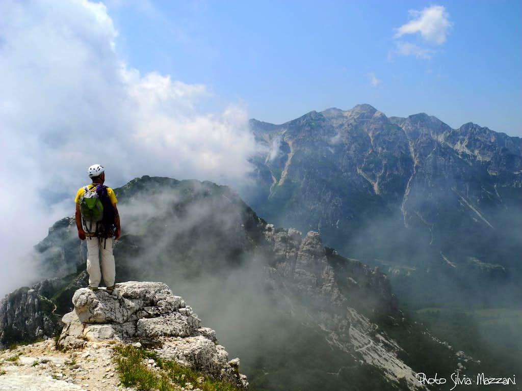 Baffelan summit view