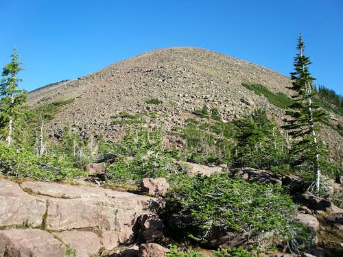 West ridge of East Grandaddy Mountain