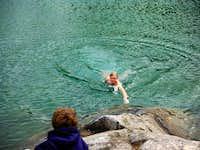 For a swim