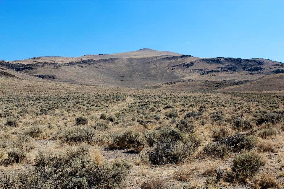 Beatys Butte from Twin Springs