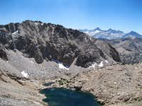 South from Glen Pass