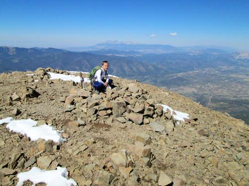 West Spanish Peak Summit