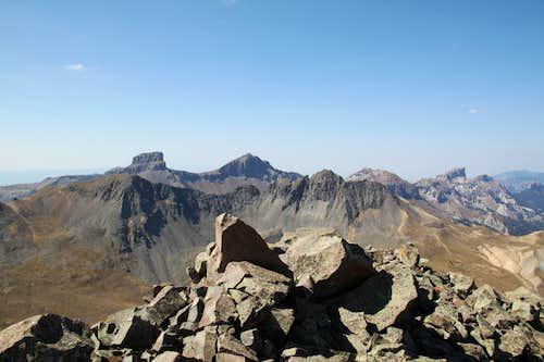 Coxcomb, Redcliff and Precipice