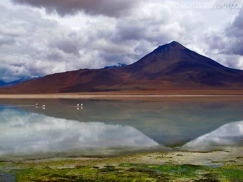 Laguna Verde volcano