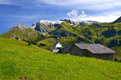 Bürstegg above Lech