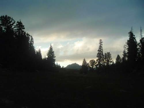 Mount Geikie (12,378ft) in...