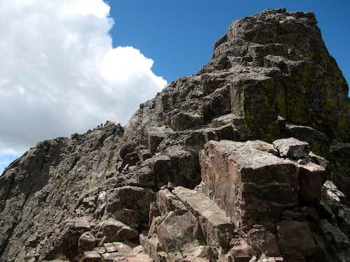 Crestone Peak Summit Ridge