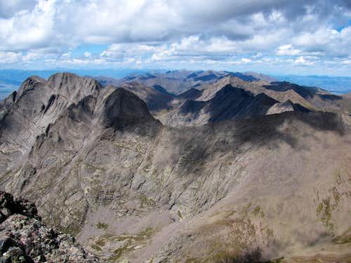 Crestone Peak Summit View