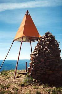 Summit of Spanish Fork Peak.