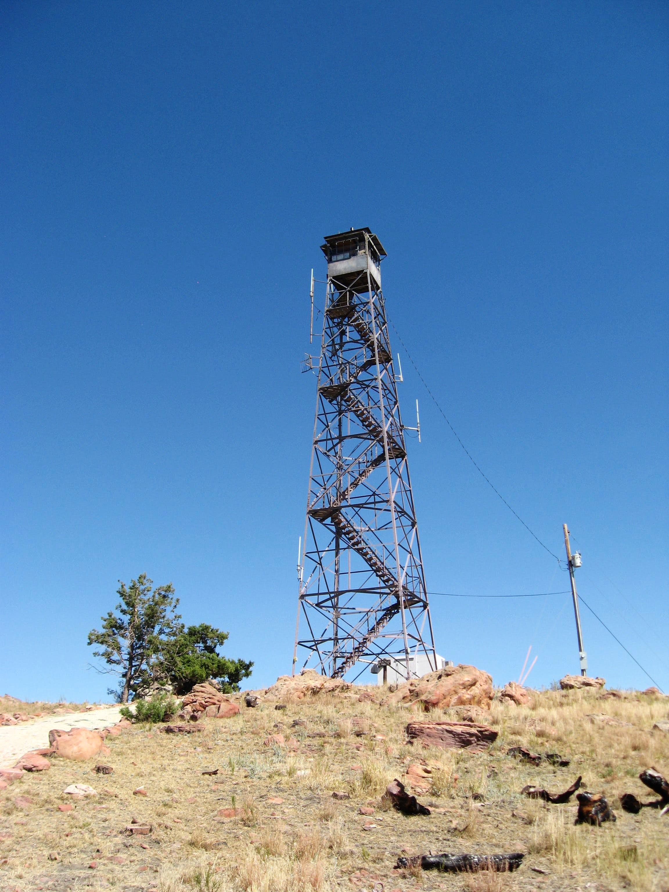 Towers (existing, historical, and geological) of the Black Hills