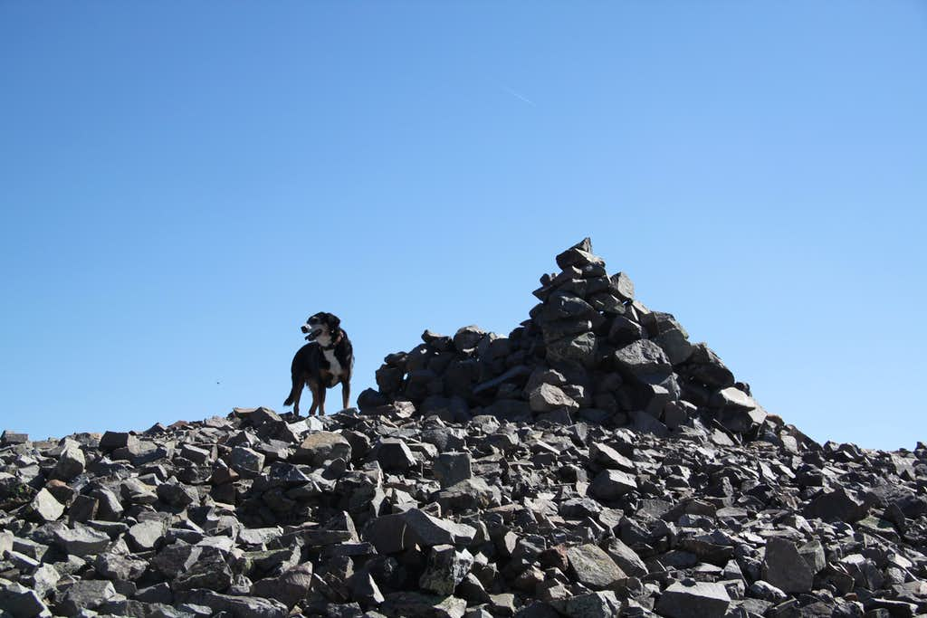 Jones Mountain summit