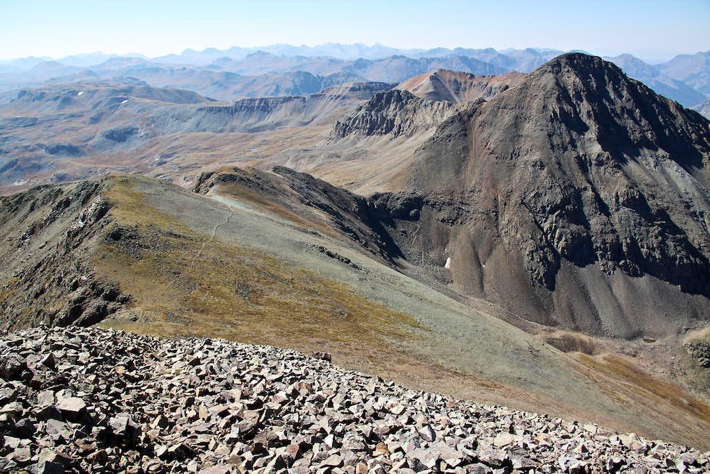 South ridge trail