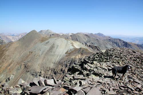 Summit of Niagara peak
