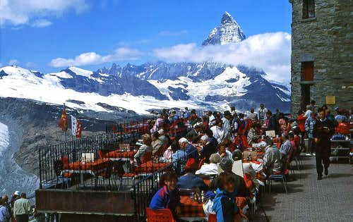 Gornergrat restaurant