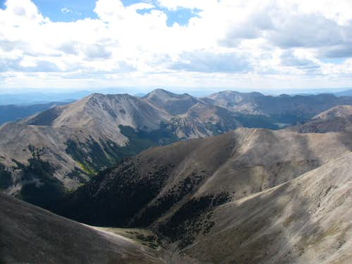 Mount Shavano Summit View